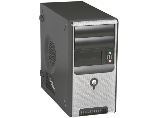 IN WIN Z Series Z583T.D400TBL Black Steel MicroATX Mini Tower Computer Case 400W Power Supply