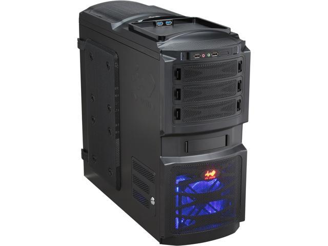 IN WIN BUC Black SECC Steel ATX Mid Tower Computer Case ATX 12V, PSII Size, Not Included Power Supply