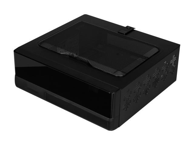 IN WIN IW-BQ656T.AD80TBLR, Mini ITX case w/ AD80A7-2 T power supply, w/ external remote and a plastic mounting bracket