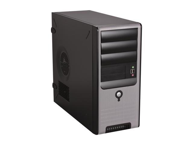 IN WIN C583T.CQ450TBL Black Computer Case