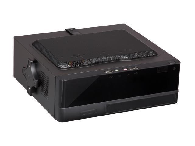 IN WIN BQ656T.AD120TBL Black Mini-ITX Desktop Computer Case 120W Power Supply