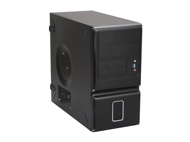 IN WIN Z653.CH350TS3 Black Steel / Plastic MicroATX Mini Tower Computer Case