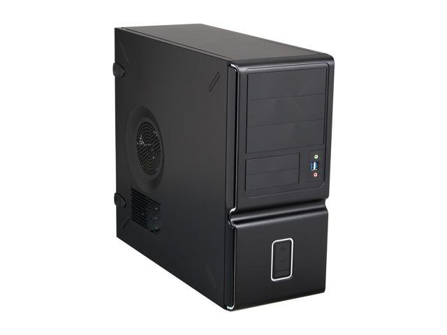 In Win Z653 micro ATX Case with IP-S350CQ2 H Haswell Ready power supply, Black, TAC 2.0, Front USB 3.0X2, HD audio