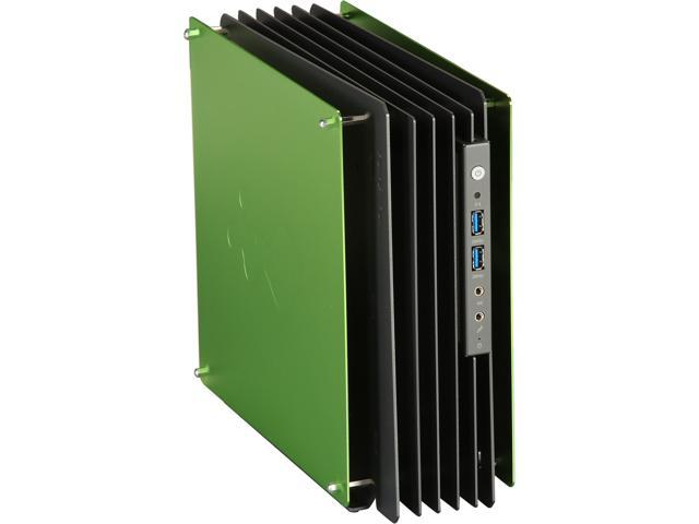 IN WIN H-Frame Mini Green Computer Case