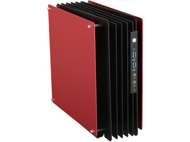 IN WIN H-Frame Mini Red Computer Case