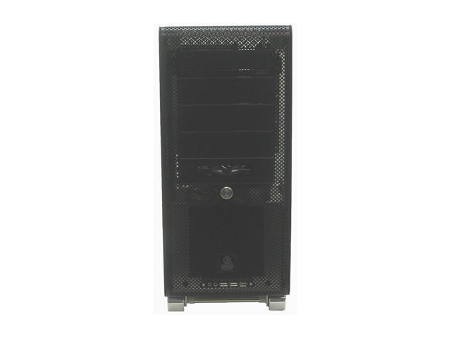 LIAN LI V-1000B-W Black Aluminum ATX Mid Tower Computer Case