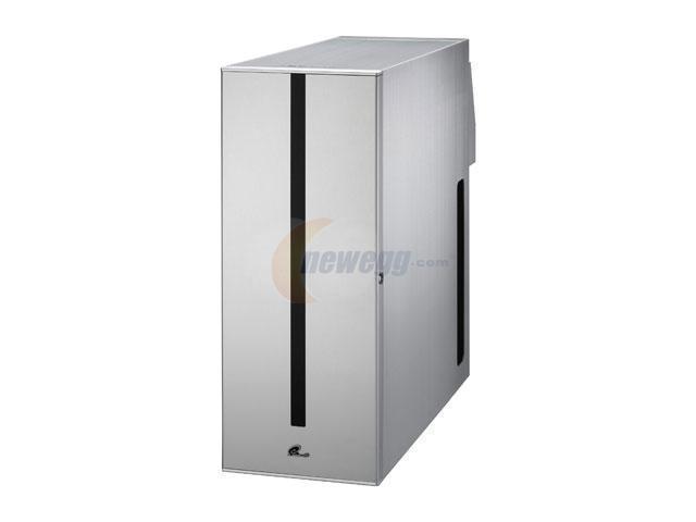 LIAN LI PC-S80A Silver Aluminum ATX Mid Tower Super Silent Computer Case