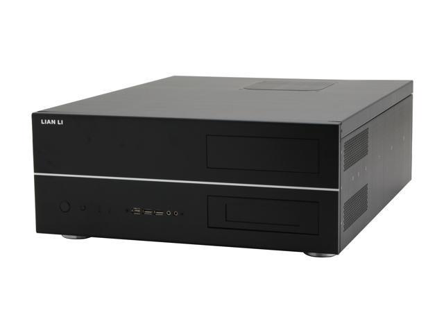 LIAN LI Black Aluminum PC-C32B ATX Media Center / HTPC Case