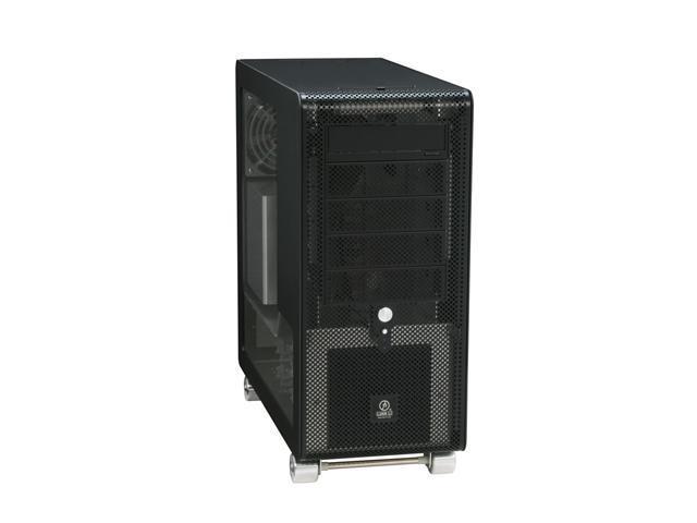 LIAN LI PC-V1000Z Black Aluminum ATX Mid Tower Computer Case