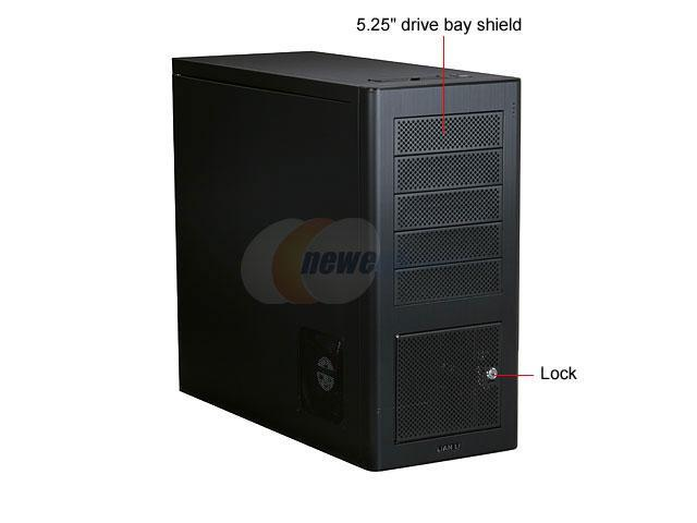 LIAN LI PC-9 Black Computer Case