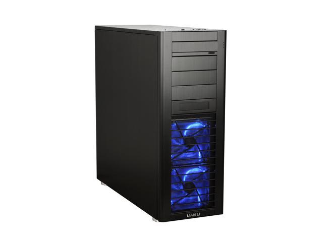 LIAN LI PC-B70 Black Aluminum ATX Full Tower Computer Case