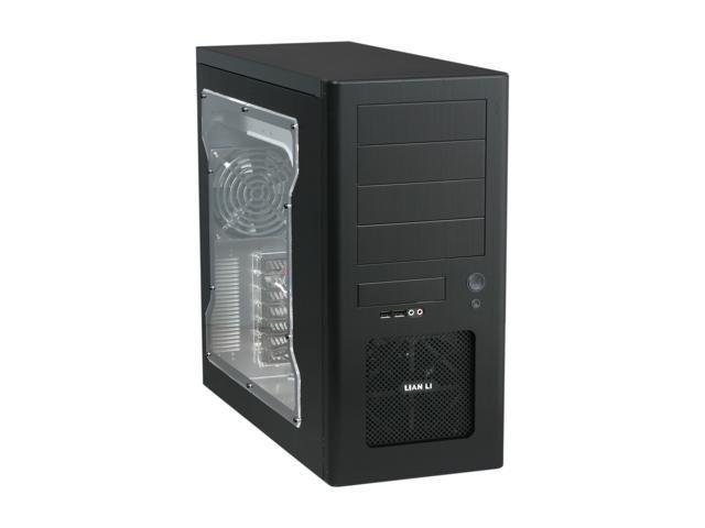 LIAN LI PC-8N Black Computer Case
