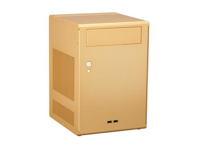 LIAN LI PC-Q7G Gold Aluminum Mini-ITX Tower Computer Case