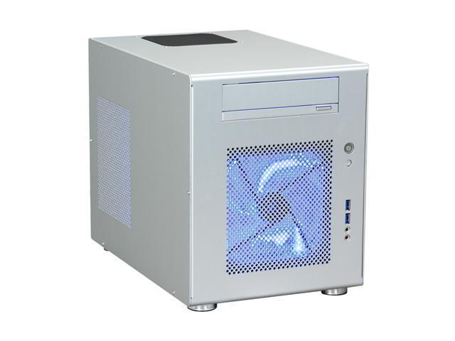 LIAN LI PC-Q08A Silver Aluminum Mini-ITX Tower Computer Case