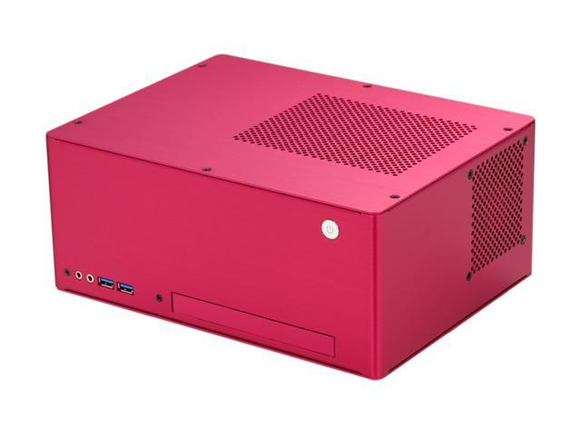 LIAN LI PC-Q09FR Red Aluminum Mini-ITX Desktop Computer Case 150W Power Supply