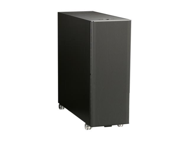 LIAN LI PC-V2120X All Black Aluminum ATX Full Tower Computer Case