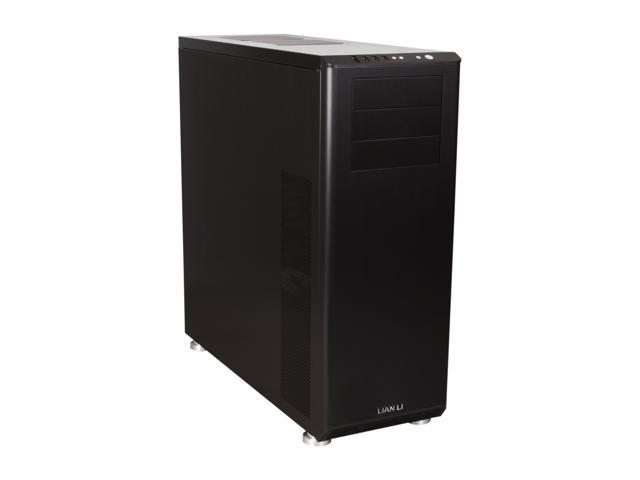LIAN LI PC-Z70B Black Aluminum ATX Full Tower Computer Case