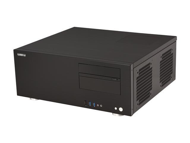 LIAN LI Black Aluminum PC-C60B ATX Media Center / HTPC Case