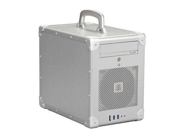 LIAN LI PC-TU200A Silver Aluminum Mini-ITX Tower Computer Case
