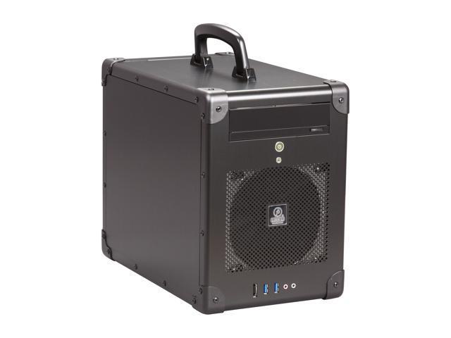 Lian li pc tu200b black aluminum mini itx tower computer for Case pc colorati
