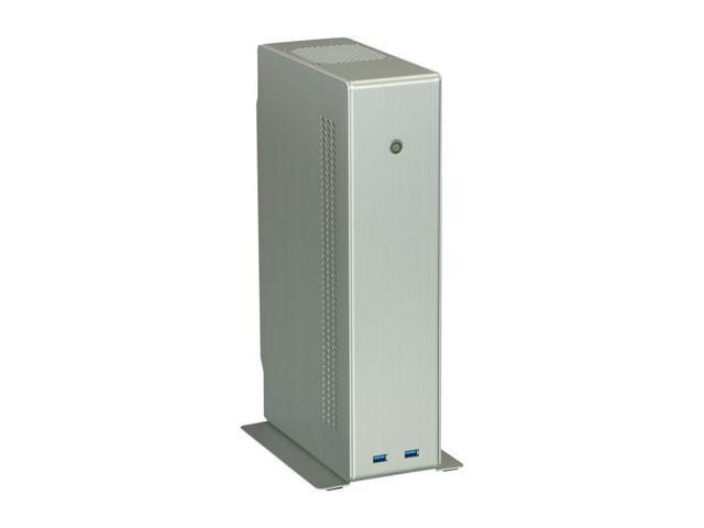 LIAN LI Silver PC-Q12A Mini ITX Media Center / HTPC Case