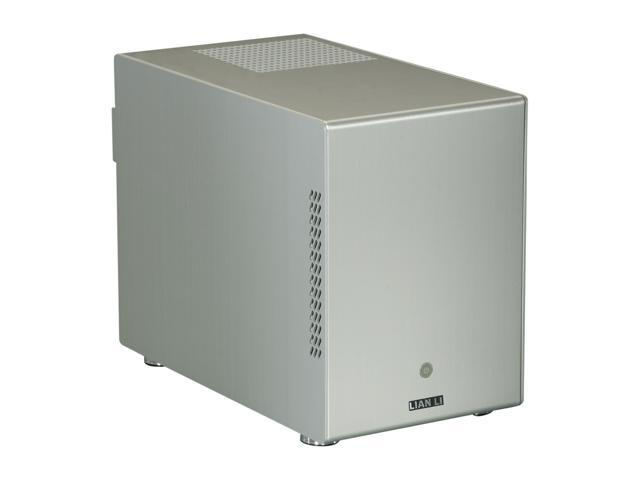 LIAN LI Silver PC-Q25A Mini ITX Media Center / HTPC Case