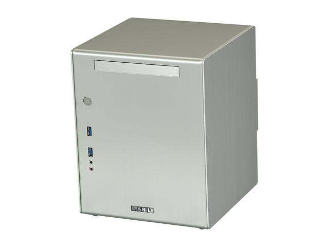 LIAN LI PC-Q03A Silver Aluminum Mini-ITX Tower Computer Case