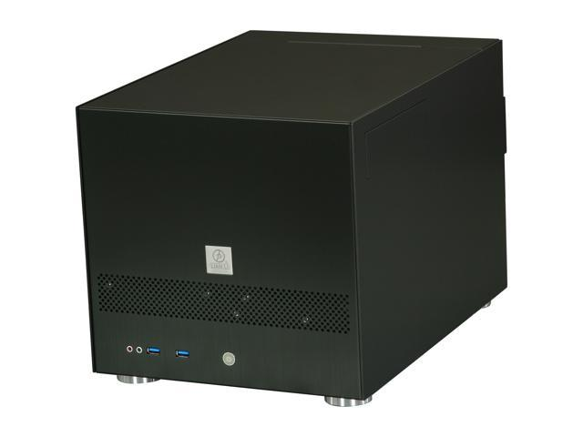 LIAN LI PC-V355B Black Aluminum MicroATX Mini Tower Computer Case