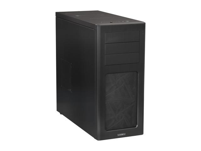 LIAN LI PC-7HX Black Aluminum ATX Mid Tower Computer Case