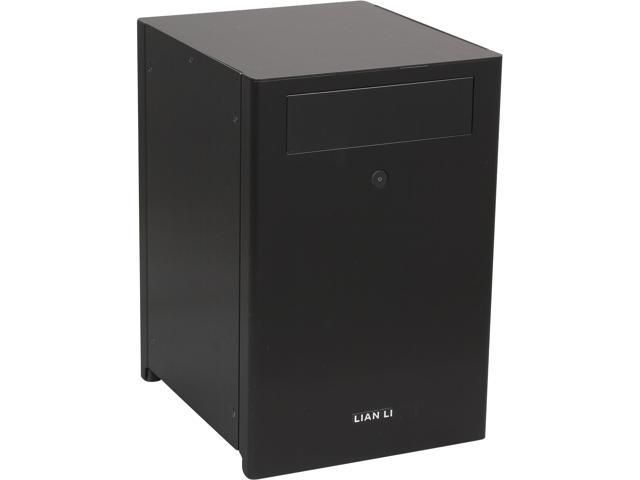 LIAN LI PC-Q27B Black Aluminum Mini-ITX Tower Computer Case