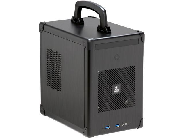 LIAN LI PC-TU100B Black Aluminum Mini-ITX Tower Computer Case