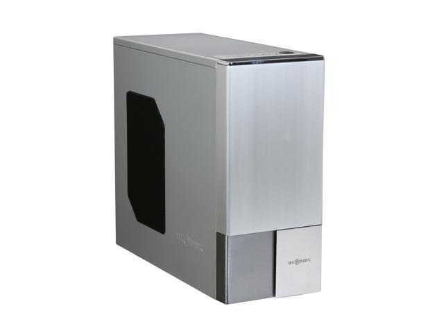 IKONIK Zaria A20 3IC-Z2DSM Silver Aluminum / SECC ATX Mid Tower Computer Case