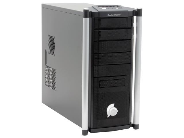 COOLER MASTER Centurion 530 RC-530-SSN1 Black Aluminum Bezel, SECC Chassis ATX Mid Tower Computer Case
