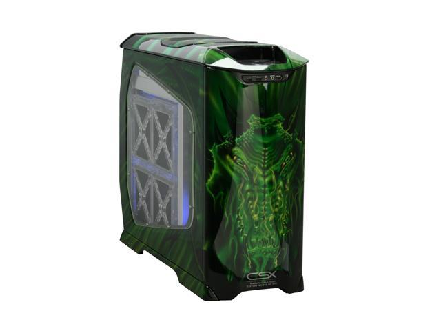 COOLER MASTER Stacker 830 CX-830DRGN-01-GP Color CSX Limited Edition Green Dragon Computer Case