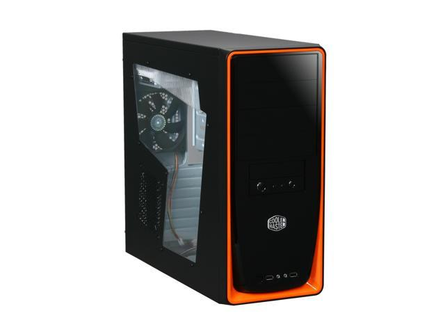 COOLER MASTER Elite RC-310-OWR460 Black Computer Case