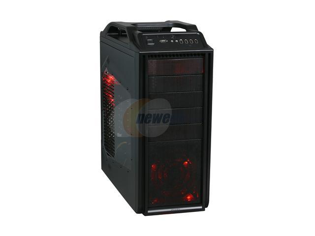 COOLER MASTER Storm Scout SGC-2000-KKR600 Black Steel / Plastic ATX Mid Tower Computer Case 600W Power Supply