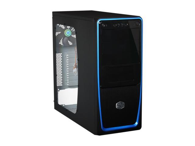 Cooler Master Elite 311 Rc 311b Bwn1 Blue Steel Plastic