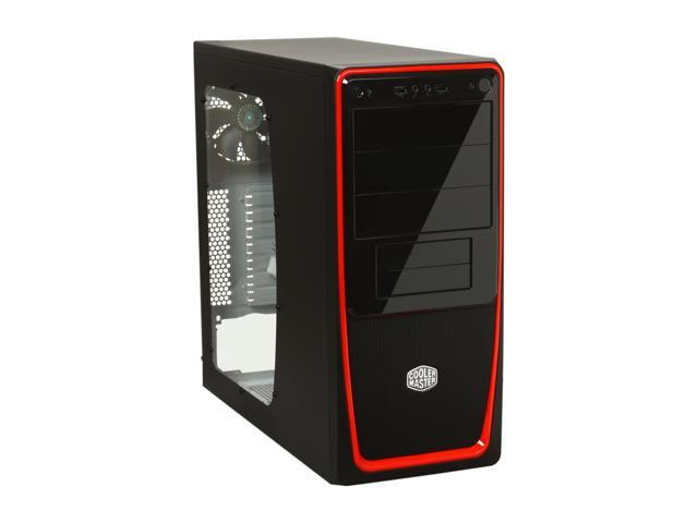COOLER MASTER Elite 311 RC-311B-RWN1 Red Steel / Plastic ATX Mid Tower Computer Case