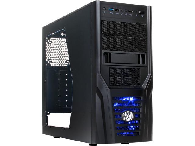 Cooler Master Elite 431 Plus - Mid Tower Computer Case with Windowed Side Panel and USB 3.0