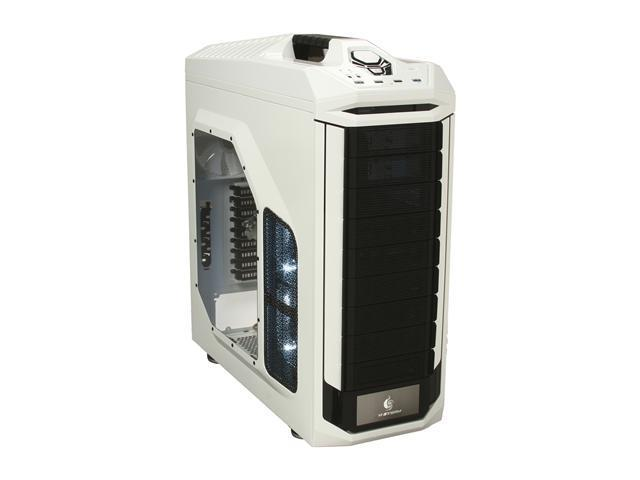 CM Storm Stryker - White Full Tower Gaming Computer Case with Handle and External 2.5
