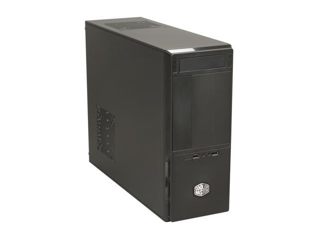 Cooler Master Elite 361 - Mid Tower Computer Case with Rotatable Logo for Vertical or Horizontal Placement