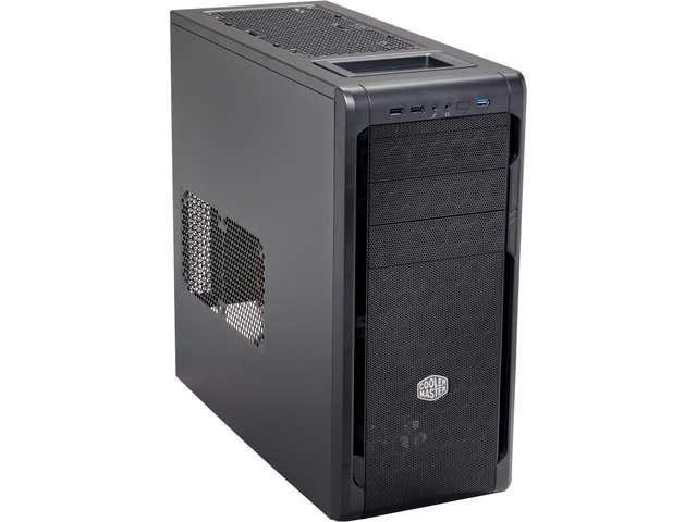 Cooler Master N500 - Mid Tower Computer Case with Meshed Front Panel