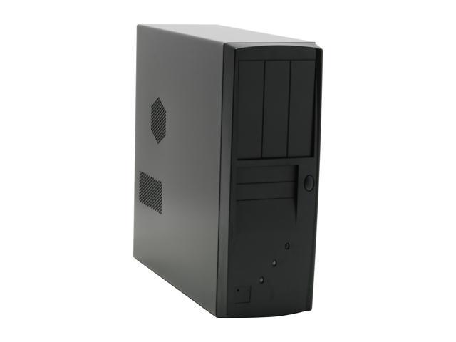 HEC 7106BB Black 1.0mm Thickness ATX Desktop Computer Case