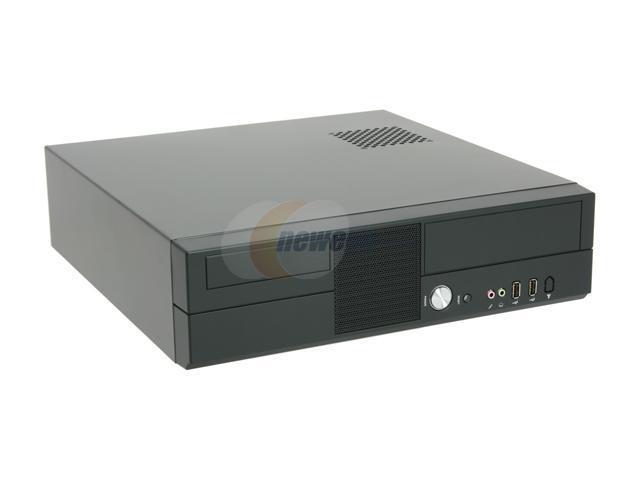 hec Black 0.7mm Thickness SECC 7K09 Micro ATX Media Center / HTPC Case with 270W FLEX Power Supply