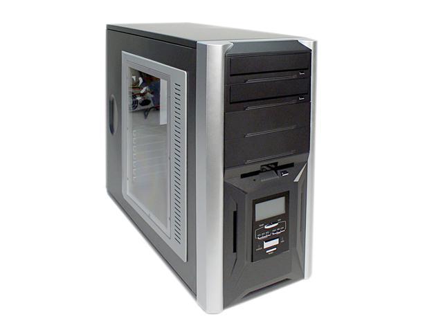 AHANIX Zion x116 Black Steel ATX Mid Tower Computer Case