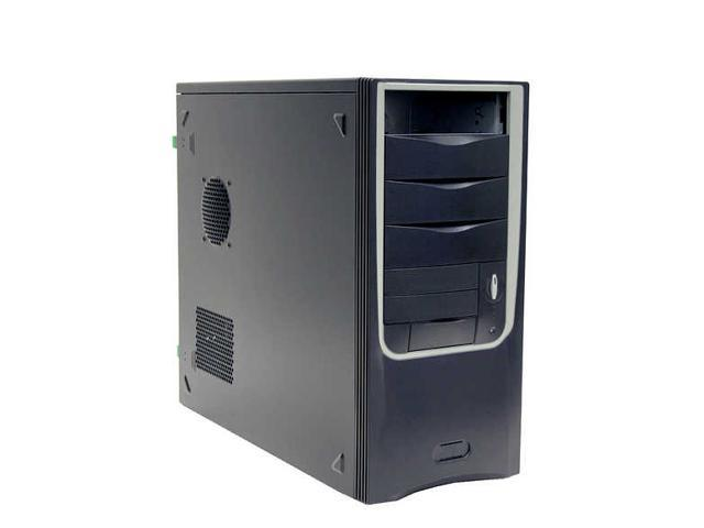 Ever Case E4252B-81 Black Case with Fan Duct