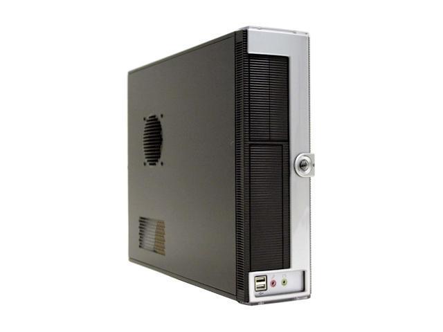 Ever Case E1290B-L24 Black/Silver Computer Case