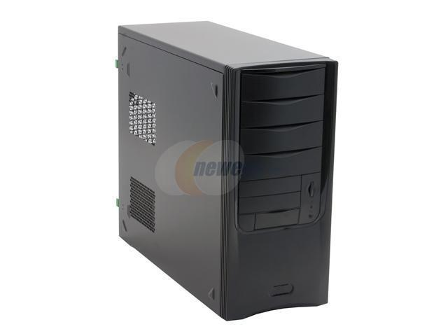 Ever Case E4252BB-53 Black Steel ATX Mid Tower Computer Case
