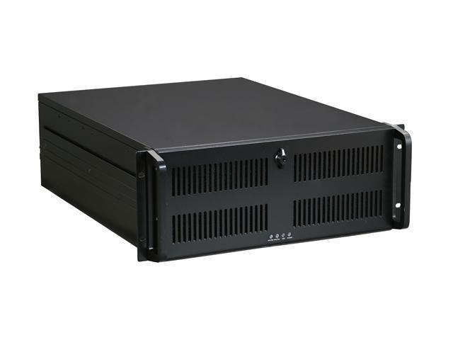 ARK IPC-4U600 Black 1.2mm SECC Zinc-Coated Steel 4U Rackmount Server Chassis