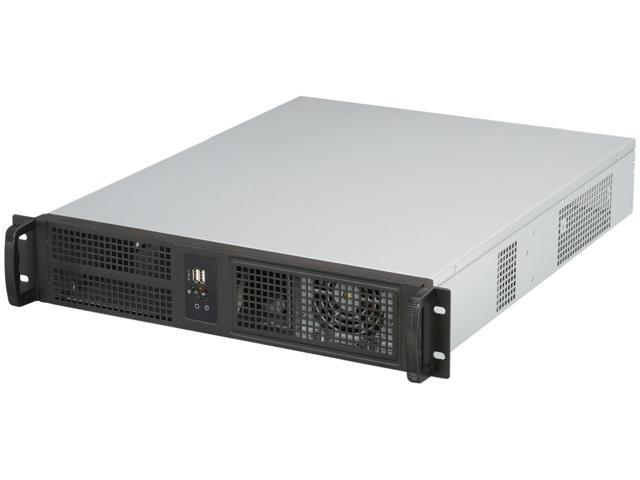 ARK IPC-2U2055PS Black 1.2mm SGCC 2U Rackmount Server Chassis